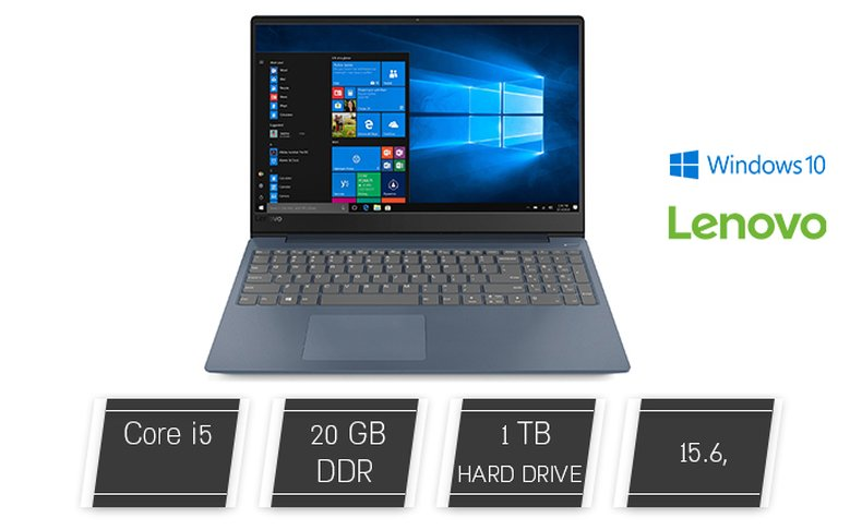 מחשב נייד Lenovo עם מסך
