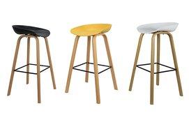 כסא בר בעיצוב סקנדינבי