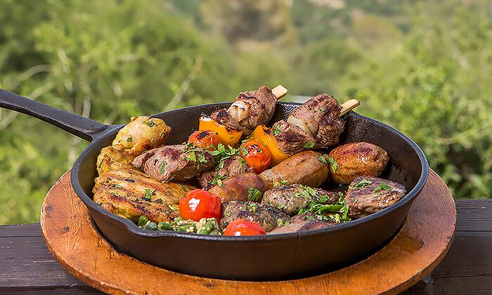 4 ארוחה זוגית כשרה, מסעדת פיצ'ונקה בפארק נס הרים