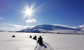 טיול אופנועי שלג מאורגן בקווקז