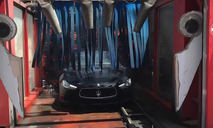 3 שטיפה חיצונית ופנימית לרכב ב-splash car wash