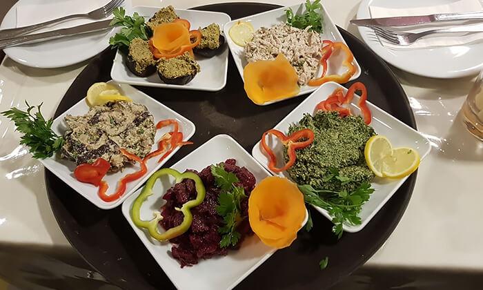 3 ארוחת בשרים זוגית במסעדת טביליסי הגיאורגית הכשרה, באר שבע
