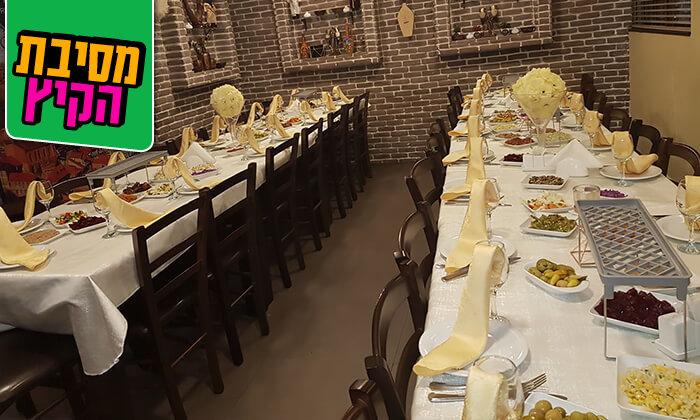 7 ארוחת בשרים זוגית במסעדת טביליסי הגיאורגית הכשרה, באר שבע