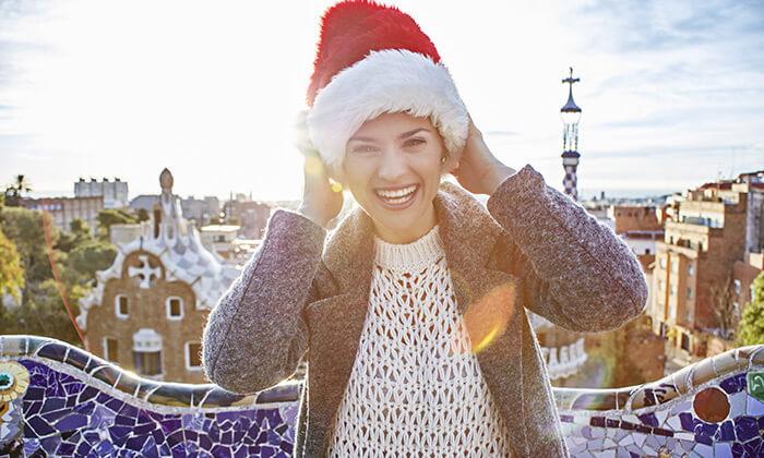 """2 עונת החגים בברצלונה: סילבסטר, חג המולד כולל סופ""""ש"""