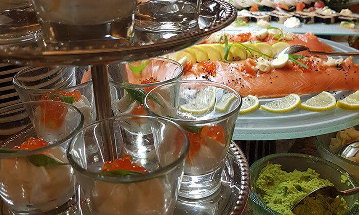 4 GROO Premium | מזנון פרימיום כשר בשישי ובשבת - מלון הילטון תל אביב
