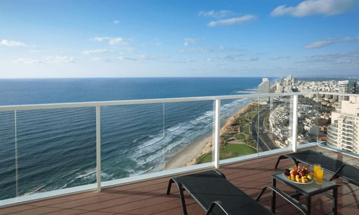 2 המקום המושלם להתפנק, להירגע במרפסת מול השקיעה ולאכול ארוחה טובה