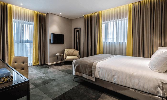 """6 מלון גולדן קראון במושבה הגרמנית חיפה, כולל סופ""""ש"""