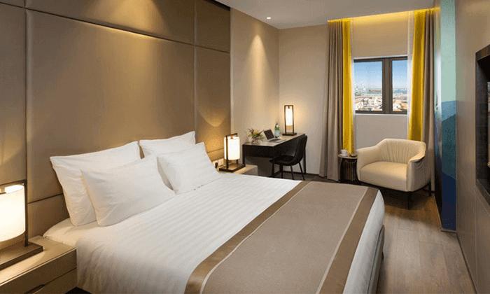 """8 מלון גולדן קראון במושבה הגרמנית חיפה, כולל סופ""""ש"""