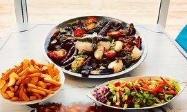 ארוחת בשרים זוגית בסטלה ביץ'