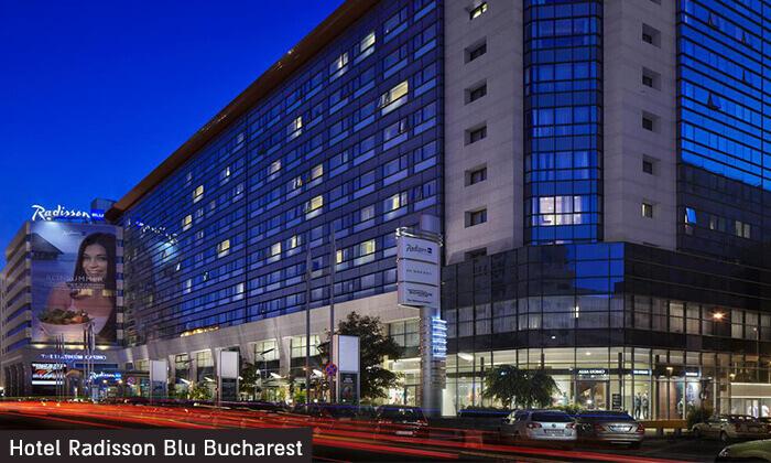 """4 שופינג, קזינו, חיי לילה ומלון 5 כוכבים Radisson Blu בבוקרשט, כולל סופ""""ש"""