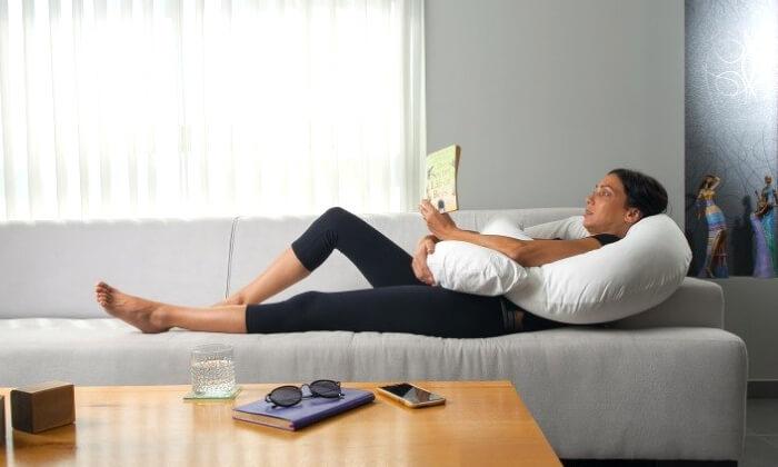 5 כרית פינוקית להיריון ולכאבי גב