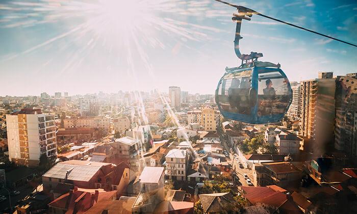2 בטומי, גאורגיה: שווקים ססגוניים, שופינג, קזינו ומלון 5 כוכבים לבחירה