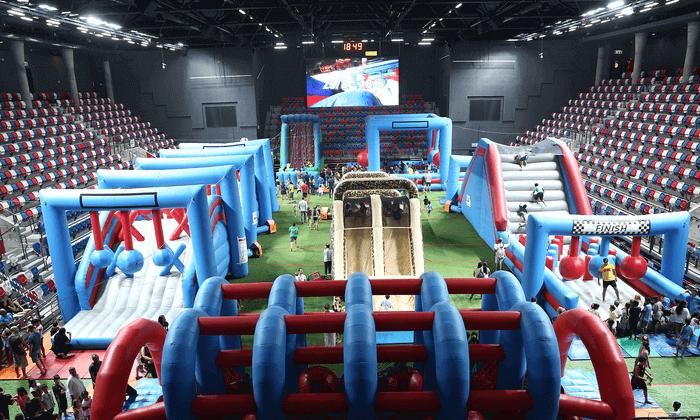 4 דיל ל-24 שעות: כרטיס כניסה ל-Wipark, מרכז הספורט אוניברסיטת בן גוריון באר שבע