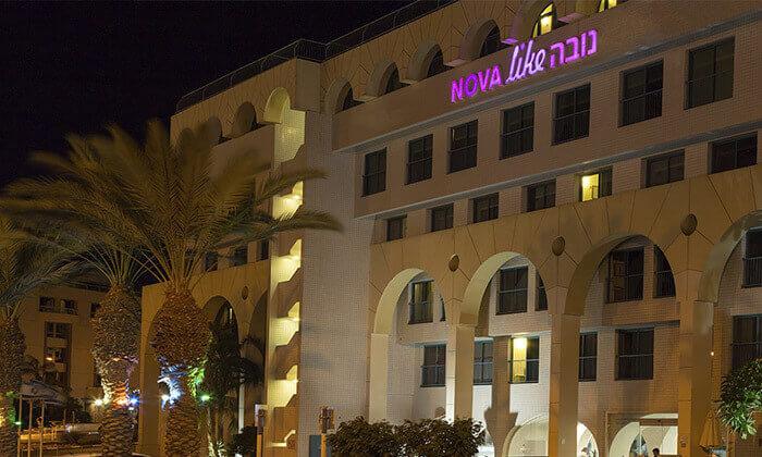 5 סוף שבוע במלון נובה אילת