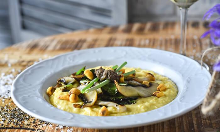 6 מסעדת גליאנו Galliano באגמון החולה - ארוחת שף זוגית לרגל ההשקה!