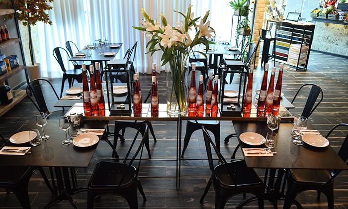 12 מסעדת גליאנו Galliano באגמון החולה - ארוחת שף זוגית לרגל ההשקה!