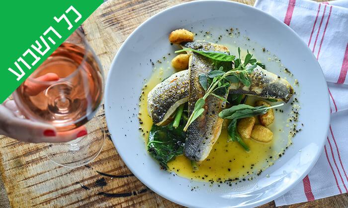 8 מסעדת גליאנו Galliano באגמון החולה - ארוחת שף זוגית