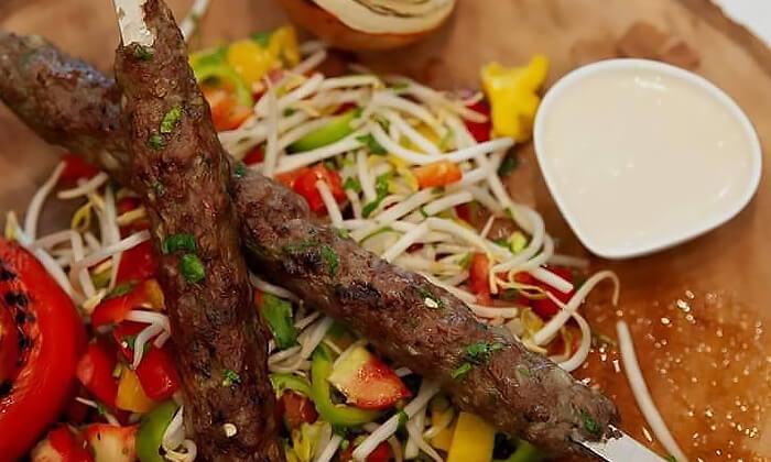 3 ארוחת בשרים זוגית כשרה במסעדת סבא חביב, טבריה