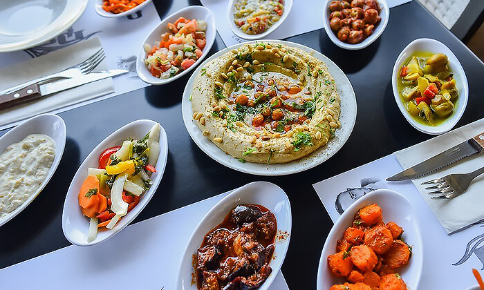 5 ארוחת בשרים זוגית כשרה במסעדת סבא חביב, טבריה