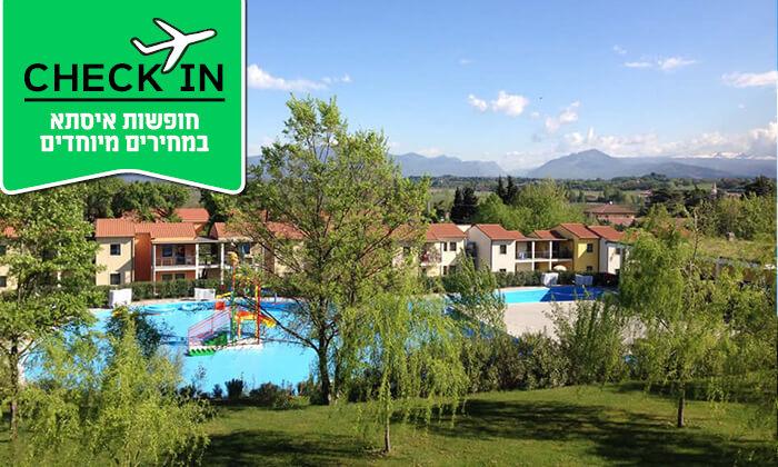 4 פסח בצפון איטליה - אגם גארדה היפה, ורונה הרומנטית, פארקים לכל המשפחה ועוד
