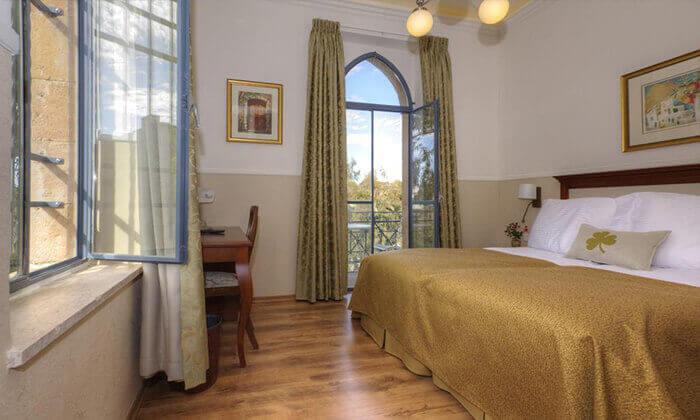 """3 חופשה באווירה ירושלמית רומנטית, במלון בוטיק מפנק, כולל סופ""""ש"""