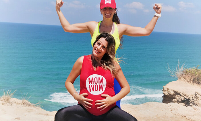 9 אימון אישי לנשים בהיריון אצל המאמנת גל שחם, סטודיוStrong Mama כפר שמריהו