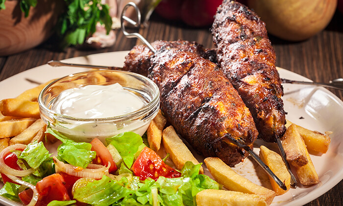 4 ארוחת בשרים זוגית בשיפודי הפינה, רמת גן