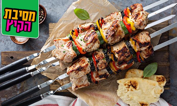 5 ארוחת בשרים זוגית בשיפודי הפינה, רמת גן