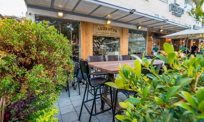16 לוזאטו - LUZZATTO מסעדת בשרים איטלקית כשרה למהדרין - ארוחה זוגית לרגל ההשקה!