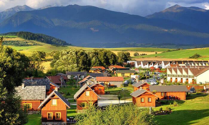 2 חופשה משפחתית בהרי הטטרה בסלובקיה - כולל רכב שכור וכפר נופש מומלץ
