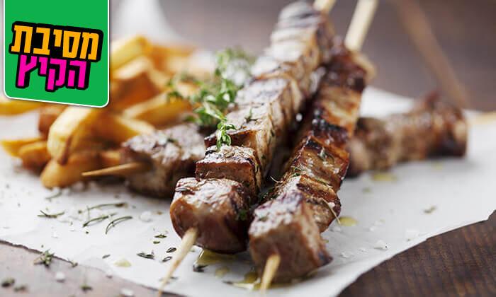 3 ארוחת בשרים זוגית במסעדת גריל הלוהט הכשרה, תל אביב