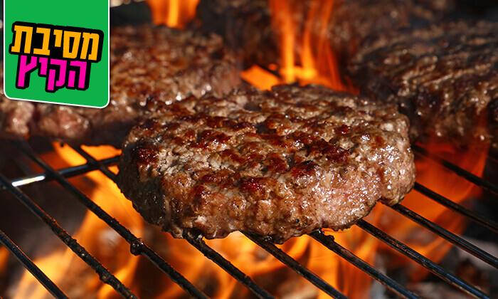 6 ארוחת בשרים זוגית במסעדת גריל הלוהט הכשרה, תל אביב