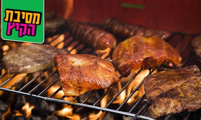 7 ארוחת בשרים זוגית במסעדת גריל הלוהט הכשרה, תל אביב