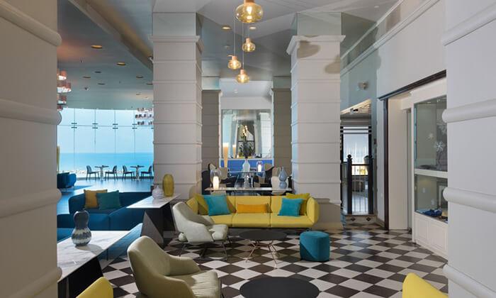 7 יום כיף במלון הרודס תל אביב