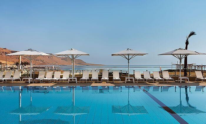 11 יום כיף במלון הוד המדבר, ים המלח