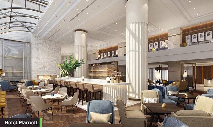 9  חופשת 5 כוכבים ב-Marriott אתונה, כולל סופ''ש
