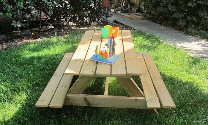 """3 שולחן קק""""ל לילדים"""