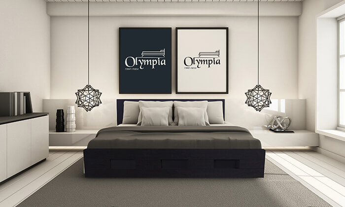 4 מיטת עץ