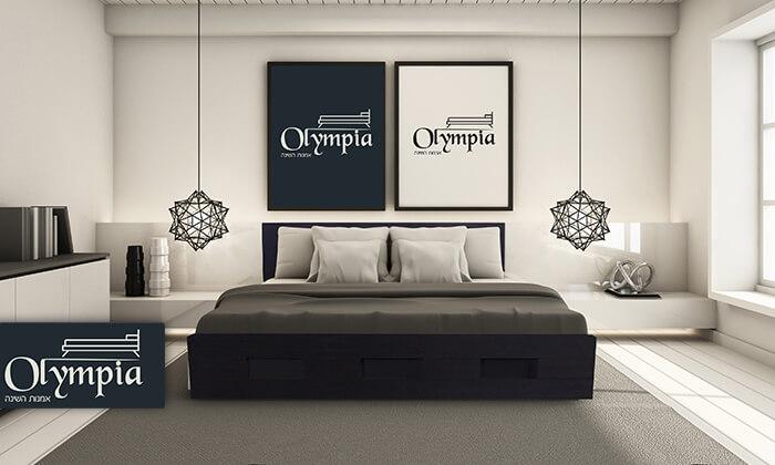 2 מיטת עץ