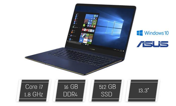 2 מחשב נייד ASUS אסוס עם מסך מגע מתהפך 13.3 אינץ'