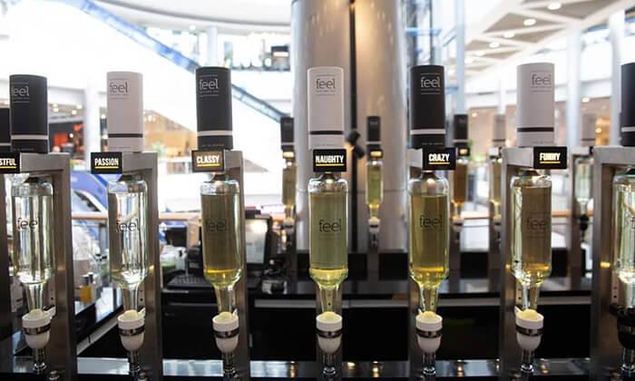 10 רשת Feel Perfume Bar, בר בשמים במגוון קניונים ברחבי הארץ - בקבוק בושם לבחירה