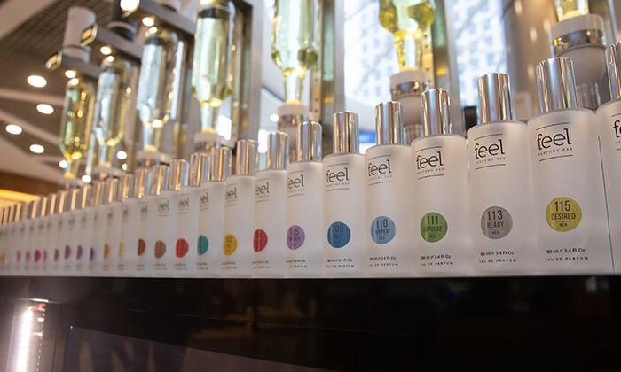 3 רשת Feel Perfume Bar, בר בשמים במגוון קניונים ברחבי הארץ - בקבוק בושם לבחירה