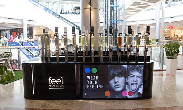 13 רשת Feel Perfume Bar, בר בשמים במגוון קניונים ברחבי הארץ - בקבוק בושם לבחירה