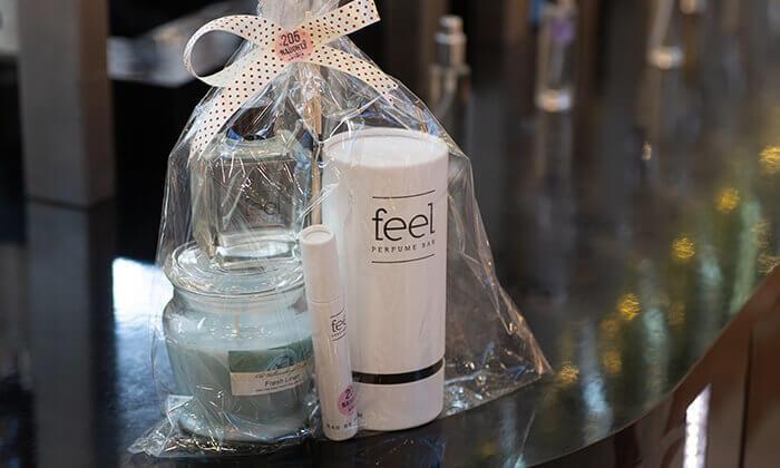 9 רשת Feel Perfume Bar, בר בשמים במגוון קניונים ברחבי הארץ - בקבוק בושם לבחירה