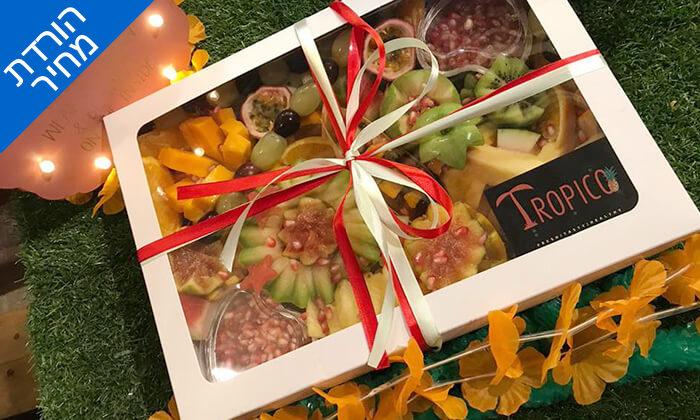 7 מגשי פירות כשר, בר בריאות טרופיקו גבעתיים