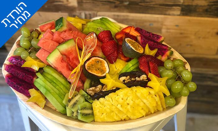 6 מגשי פירות כשר, בר בריאות טרופיקו גבעתיים