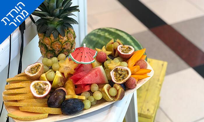 4 מגש פירות כשר - בר בריאות טרופיקו, קניון איילון