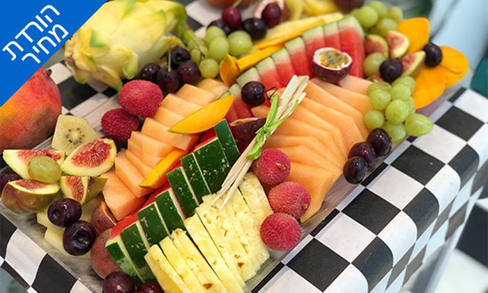 5 מגש פירות כשר - בר בריאות טרופיקו, קניון איילון