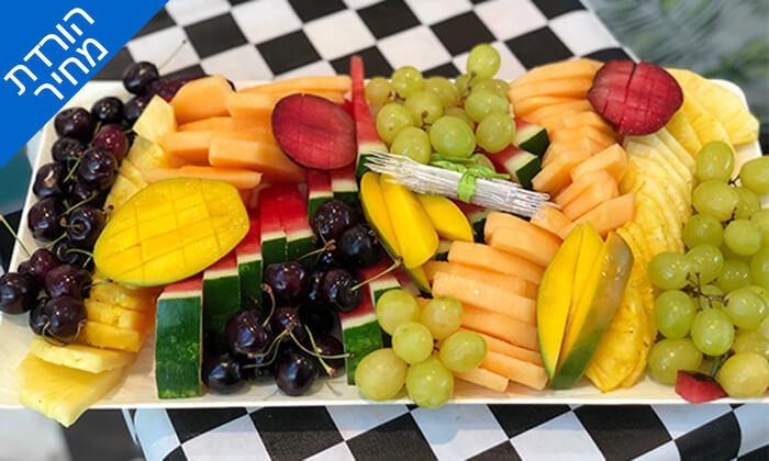 3 מגש פירות כשר - בר בריאות טרופיקו, קניון איילון