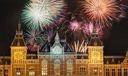 חג המולד וסילבסטר באמסטרדם